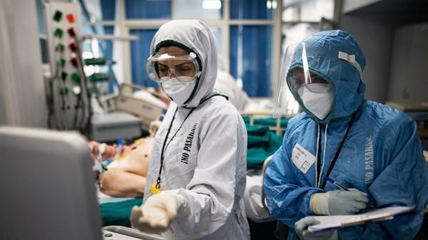 """""""ДНР"""" сообщила об увеличении пациентов с коронавирусом. Больницы переполнены"""