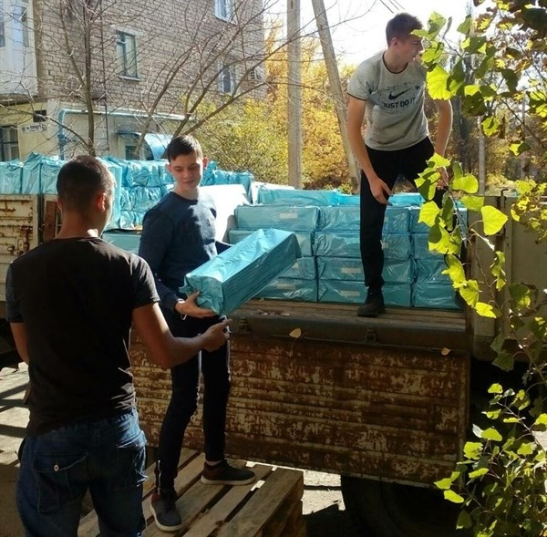 22 октября в Горловке будут выдавать гуманитарную помощь для детей Центрально-Городского района