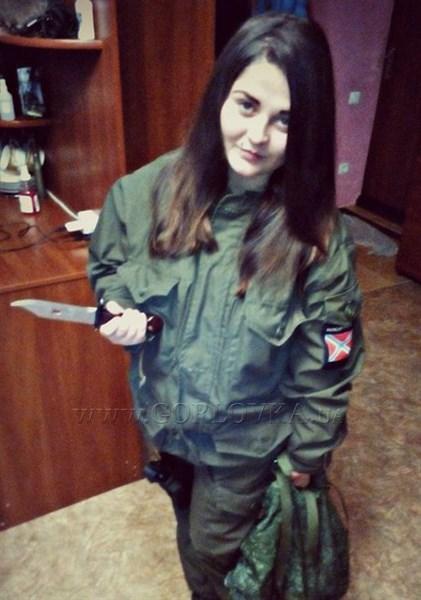 Спецподразделением СБУ Украины задержана снайперша, которая уничтожала украинских силовиков возле Горловки. ФОТО