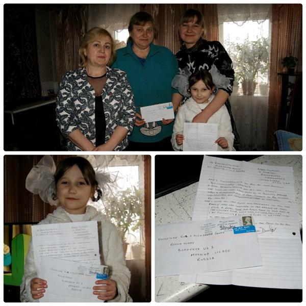 Пенсионер из Уэльса, узнав историю о маленькой горловчанке Маше, начал передавать ей деньги