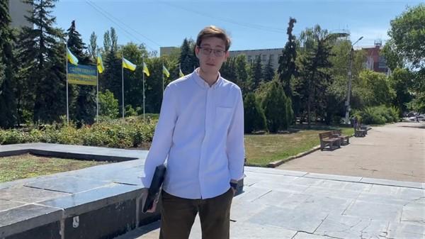 Переселенец из Горловки Артур Агеев стал молодежным делегатом Украины в ООН. Что это значит