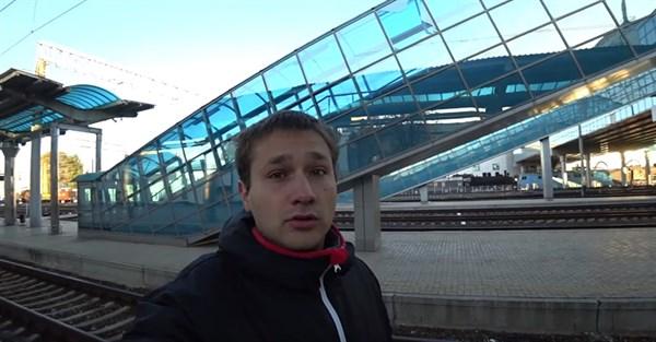 Житель оккупированного Донецка впервые за 5 лет проехался в электричке. Вот его видео и впечатления