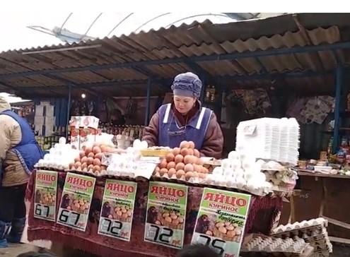 Что почем: февральские цены на центральном рынке в Горловке: ВИДЕООБЗОР от местного жителя
