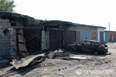 В центрально-городском районе Горловки разрушено более двух тысяч частных домов