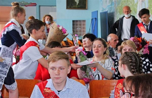 В Горловке 1265 учеников закончили девятый класс