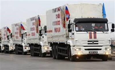В «ДНР» прибыл гуманитарный конвой из России