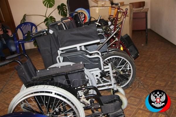 Из Республики Белорусь в Горловку доставлены инвалидные кресла
