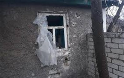 В Горловке обстрелян поселок Гольмовский: есть попадания и разрушения