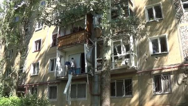 Жители Горловки рассказали, как пережили обстрелы