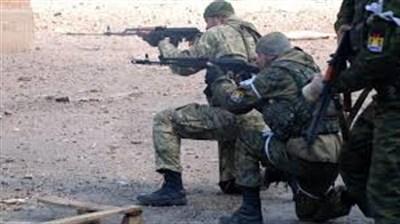 Российские войска обстреливают украинские позиции возле Горловки
