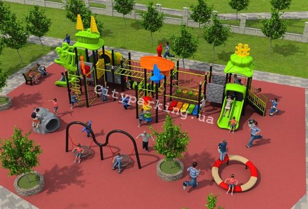 Современная детская площадка – это место отдыха и развития детей