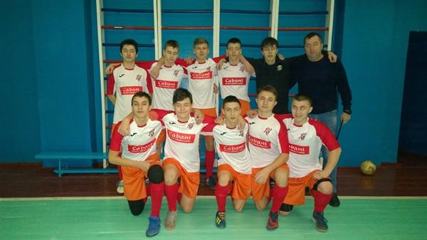 Горловские юноши в первенстве «ДНР» по мини-футболу обыграли команду из Шахтерска