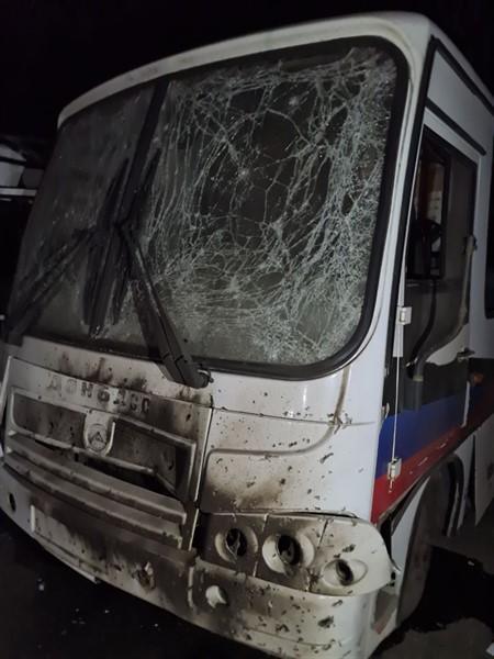 Ночью в Горловке обстреляно трамвайно-троллейбусное управление. Повреждено много транспорта