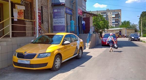 В Горловке появилось Яндекс-такси