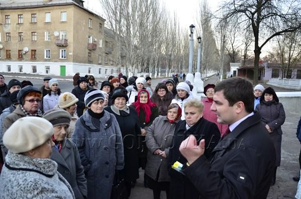 Сегодня ровно два года, как Евгений Клеп возглавил Горловку, а уик-энд мэр провел с народом