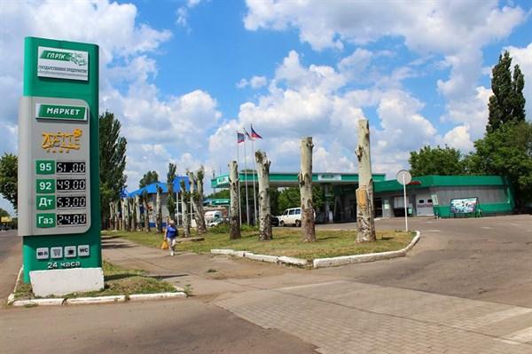 Ажиотаж из-за отсутствия бензина и остановки работы банкоматов: как Горловка пережила майские события