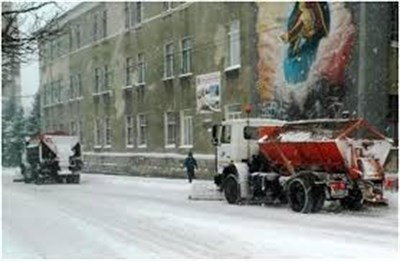 Горловку занесло снегом. Но трамваи ходить будут