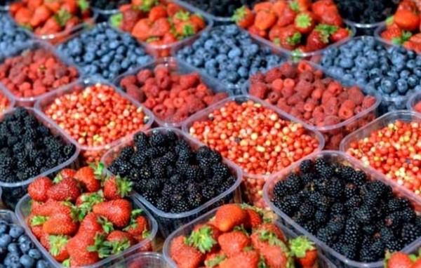 Пластиковые упаковки для ягод и овощей