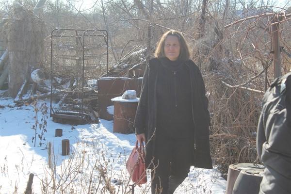 Украинский адвокат Татьяна Монтян приезжала в Горловку