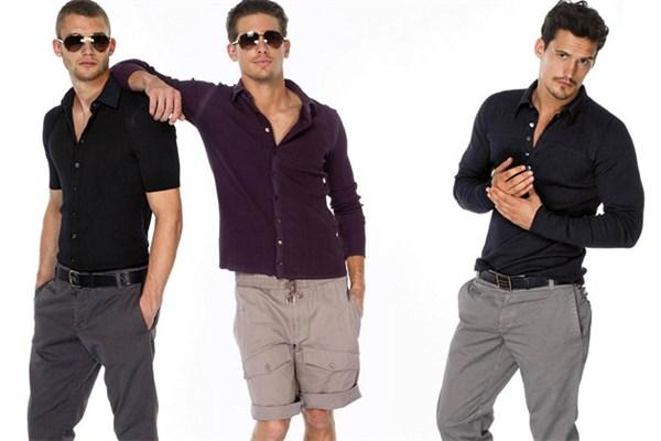 Неделя мужской моды на Gorlovka.ua: повседневная летняя молодежная одежда и респектабельные костюмы для деловых людей