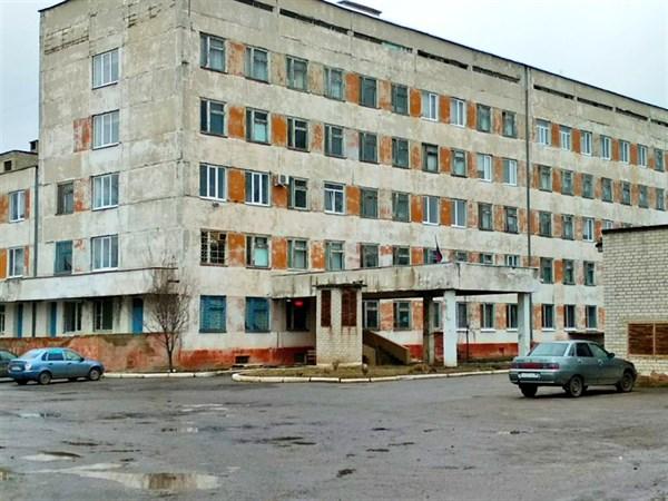 Территория второй городской больницы Горловки похожа на кадры из утопических фильмов