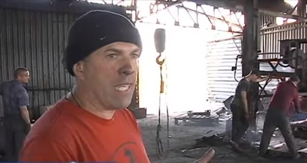 Вадим Минзюк из Горловки лишился металлургического бизнеса после оккупации. Но возобновил его под Чернобылем