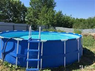 Каркасный бассейн - удачное решение для загородного дома
