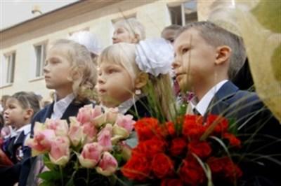В самой лучшей школе Горловки набрали всего один первый класс из 18 детей