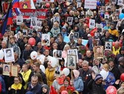 День Победы в Горловке в 30 фотографиях: как все проходило