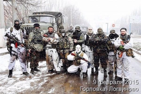 В Интернете показали фотографию защитников Горловки:  буряты и люди кавказской внешности
