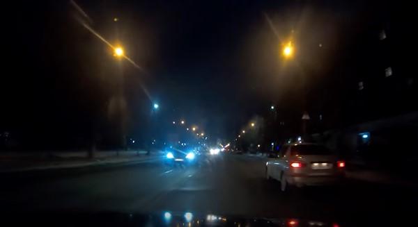 Зимняя Горловка: автопрогулка по вечернему городу