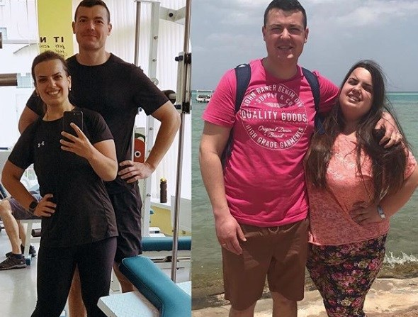 Семья из Горловки похудела на 67 килограмм. Жена сбросила больше 50-ти. Вот как им это удалось