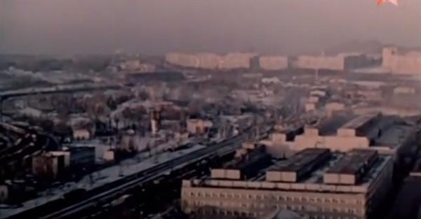 В Горловке снимали художественный фильм о шахтерах. Это было в 1984 году