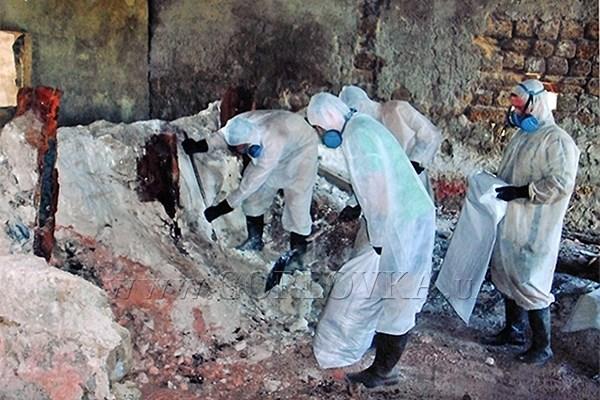 Возле горловского химзавода остается 11 тысяч тонн ядовитых веществ
