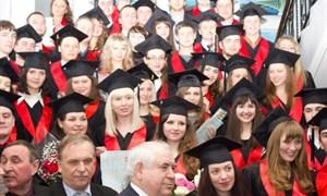 Вручение дипломов магистров в Горловском автодорожном институте