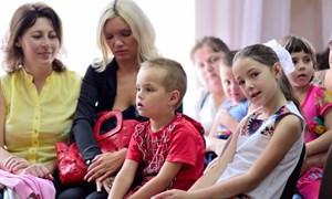 «Город счастливого детства» в Центре социальной реабилитации для детей-инвалидов