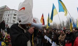 """Майдан в Донецке: """"Европа начинается с тебя!"""""""