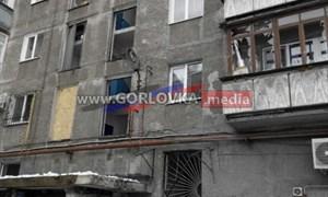 Горловка после обстрела 16 января