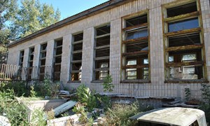 Горловский иняз: институт после обстрелов