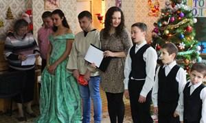 День Святого Николая в Детском социальном центре Горловки