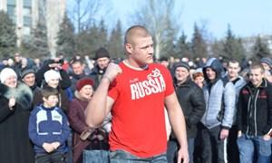 Горловка хочет жить под Путиным (фоторепортаж с митинга 1 марта)