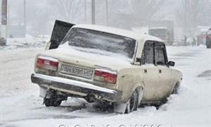Снегопад в Горловке 13.12.2012
