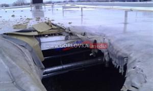 Результаты обстрела Горловки с 18 по 22 января: разбитые дома, дороги и здания