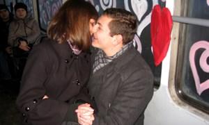 Валентинов день в трамвайчике влюбленных