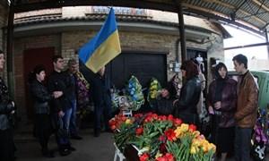 Убитого депутата горсовета Владимира Рыбака проводили в последний путь