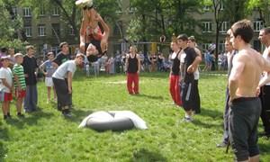 Трейсеры выступили на молодежном фестивале в Горловке