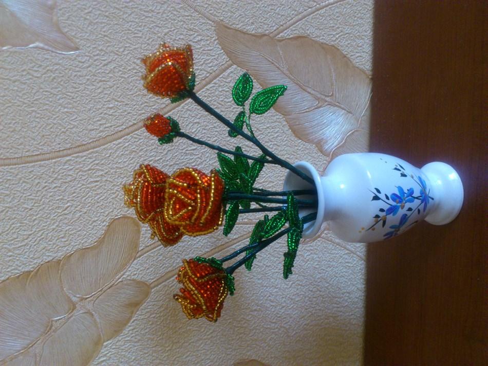 Эксклюзивные изделия из бисера.  Ольга. от 100грн.