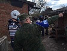 Представители миссии ООН в Горловке осмотрели место гибели 25-летней Мирославы Воронцовой, фото-2
