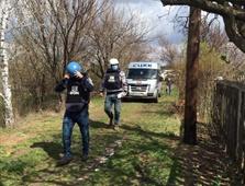 Представители миссии ООН в Горловке осмотрели место гибели 25-летней Мирославы Воронцовой, фото-3