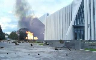 """Взрыв КСКЦ """"Стирол"""" - слабонервным, Дмитрию Фирташу и Сергею Павлючуку просмотр воспрещается!"""